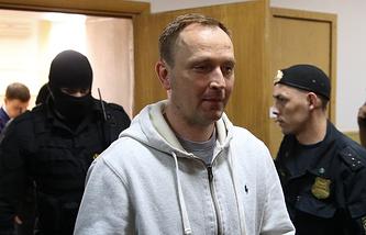 Бывший руководитель ГУЭБиПК МВД РФ Денис Сугробов
