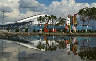 "Стадион ""Фишт"" в Олимпийском парке"