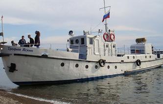 """Корабль """"Трофим Яскин"""""""