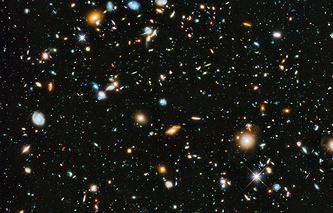 Снимок с орбитальной обсерватории Hubble. Архив