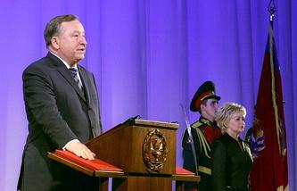 Губернатор Алтайского края Александр Карлин на церемонии инаугурации