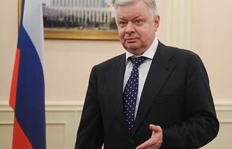 Руководитель Федеральной миграционной службы (ФМС) России Константин Ромодановский