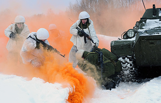 Мотострелковая бригада в Мурманской области