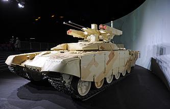 """Боевая машина огневой поддержки БМПТ-72 """"Терминатор-2"""""""
