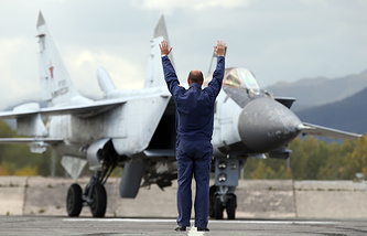 Истребитель-перехватчик МиГ-31