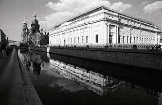 Ленинград, 1991 год. Спас на Крови еще в лесах