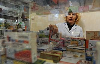 Продажа БАДов в аптеке