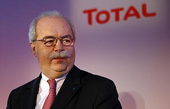 Глава нефтегазового концерна Total Кристоф де Маржери
