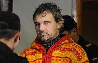 Дмитрий Лошагин перед рассмотрением по существу уголовного дела в Октябрьском районном суде