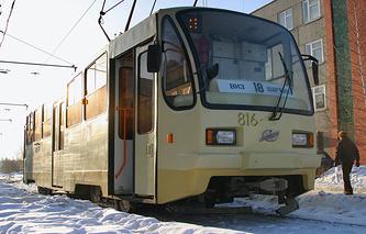 Трамвай в Екатеринбурге