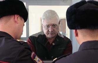 Временно отстраненный от должности мэра Астрахани Михаил Столяров