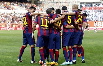 "Футболисты ""Барселоны"""
