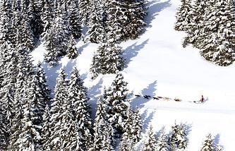Французские Альпы, архивное фото