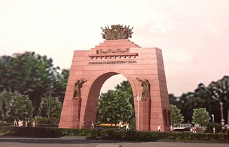 Проект  Триумфальной арки в Красном Селе