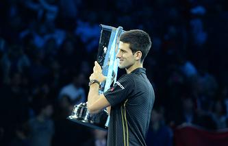 Новак Джокович - победитель итогового турнира ATP-2014