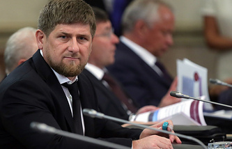 Глава Чеченской Республики Рамзан Кадыров