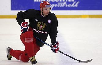 Хоккеист сборной России Илья Ковальчук