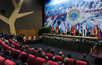 Заседание Совета глав государств-членов ШОС, сентябрь 2014 года
