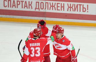 "Хоккеисты ""Спартака"""