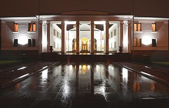 Правительственная резиденция в Минске, где проходило заседание Контактной группы