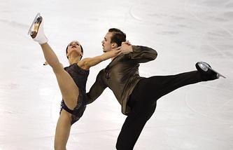 Ксения Столбова и Федор Климов© AP/Manu Fernandez