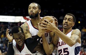 """Баскетболисты """"Атланты"""""""