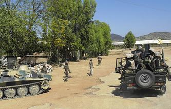 Военные патрулируют улицы в Нигерии. Архив