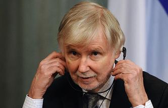 Министр иностранных дел Финляндии Эркки Туомиойя