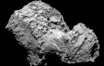 Одна из первых фотографий кометы Чурюмова-Герасименко, сделанных с европейского космического корабля Rosetta