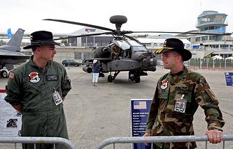 Вертолет AH-64D Apache Longbow