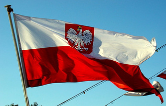 Национальный флаг Польши