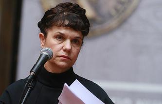 Генеральный директор ГМИИ имени А. С. Пушкина Марина Лошак