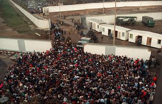 Прорыв Берлинской стены, 1989 год