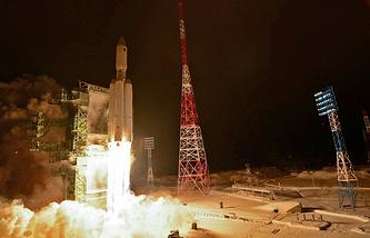 "Запуск РН ""Ангара-А5"""