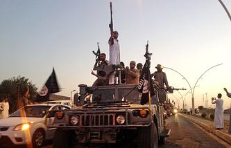 """Члены группировки """"Исламское государство"""". Ирак"""
