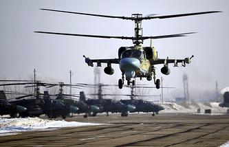 """Ударный вертолет Ка-52 """"Аллигатор"""""""
