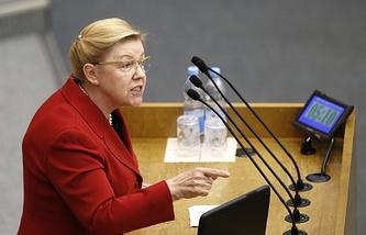 Председатель комитета Госдумы РФ по вопросам семьи, женщин и детей Елена Мизулина