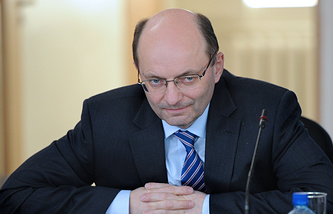 Первый вице-президент РЖД Александр Мишарин