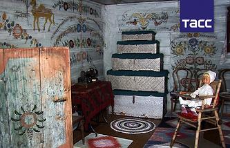 В музее-заповеднике деревянного зодчества в поселке Нижняя Синячиха