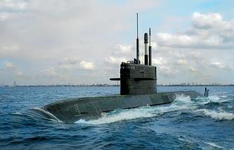 Неатомная подводная лодка проекта 677