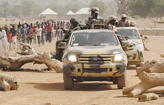 """Операция против боевиков группировки """"Боко Харам"""" в Нигерии"""