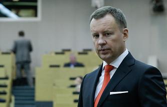 Член фракции КПРФ Денис Вороненков