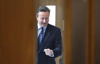Глава правительства Великобритании Дэвид Кэмерон