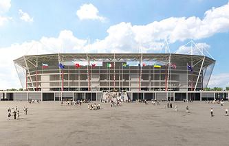 Проект стадиона в Калининграде