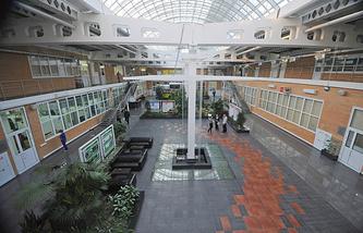 Корпус технопарка в Новосибирске