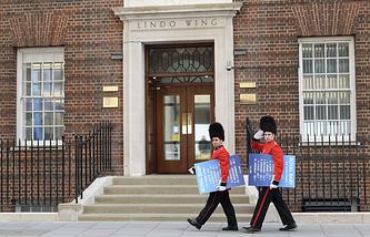 Больница имени святой Марии в лондонском районе Паддингтон, где проходят роды герцогини Кембриджской Кэйт