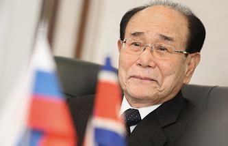 Председатель президиума Верховного народного собрания КНДР Ким Ён Нам