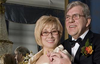 Герхард Рейндсен с супругой. 2010 год