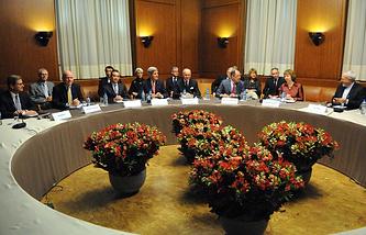 Во время переговоров по ядерной программе Ирана в Женеве, 2013 год