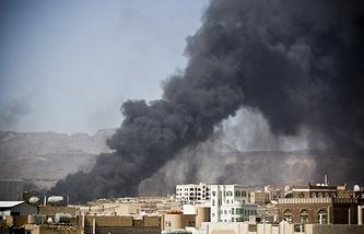 Авиаудары в Йемене